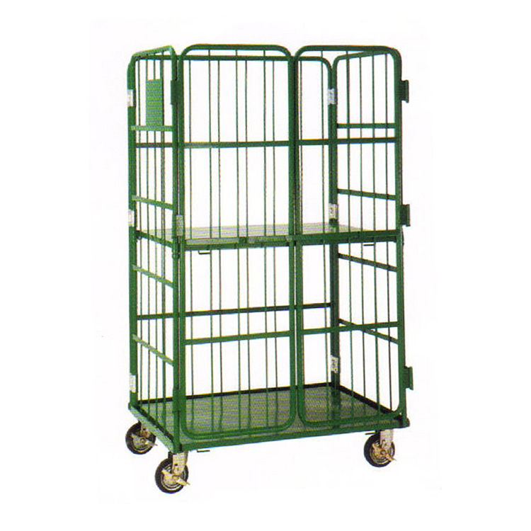 Storage and Transport Cage Metal Box Cages, Logistics vehicles